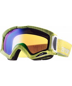 Anon Realm Printed Goggles Pinstryper/Green Solex Lens
