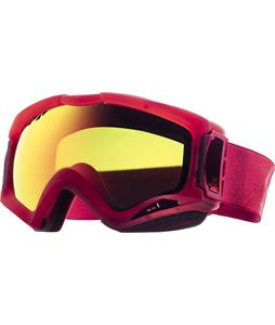 Anon Realm Painted Asian Fit Goggles Transpared/Red Solex Lens