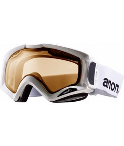 Anon Realm Painted Goggles White/Amberlens