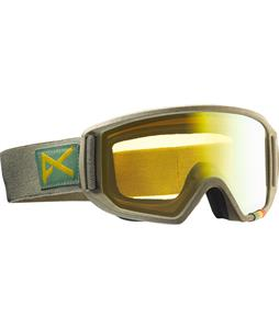 Anon Relapse Goggles Hemp/Gold Chrome Lens