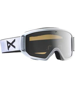 Anon Relapse Goggles White/Silver Amber Lens