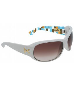 Anon Rufus Sunglasses White Mod/Brown Lens