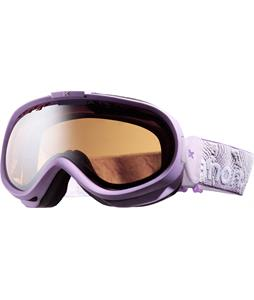 Anon Solace Painted Goggles Amethyst/Silver Amber Lens