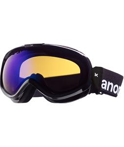 Anon Solace Painted Goggles Black/Blue Solex Lens