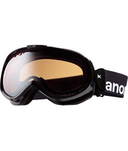 Anon Solace Painted Goggles Black/Silver Amber Lens