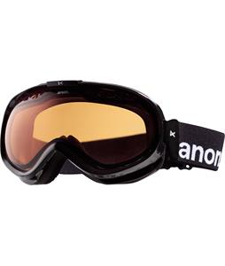 Anon Solace Painted Goggles Black/Amber Lens