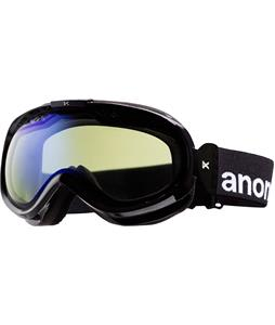 Anon Solace Painted Goggles Black/Blue Lagoon Lens