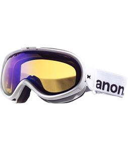 Anon Solace Painted Goggles White/Blue Solex Lens
