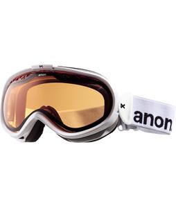 Anon Solace Painted Goggles White/Amber Lens