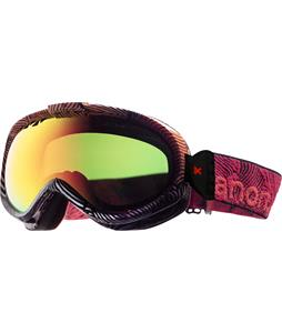 Anon Solace Painted Goggle Zebra/Red Solex Lens
