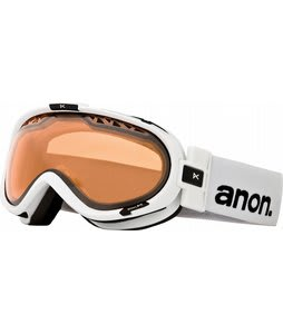 Anon Solace Painted Goggles White/Amber