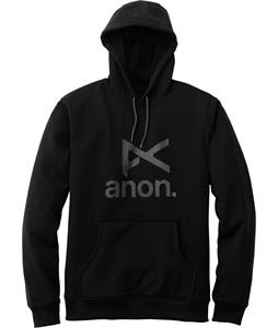 Anon Stacked Pullover Hoodie True Black