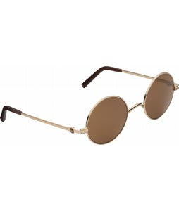 Anon Wizard Sunglasses Gold/Brown Lens