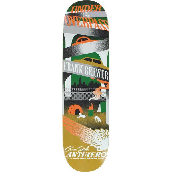 Anti Hero Gerwer Exotic Adventures Skateboard Deck