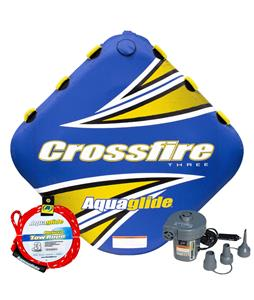 Aquaglide Crossfire 3 Towable Tube Package