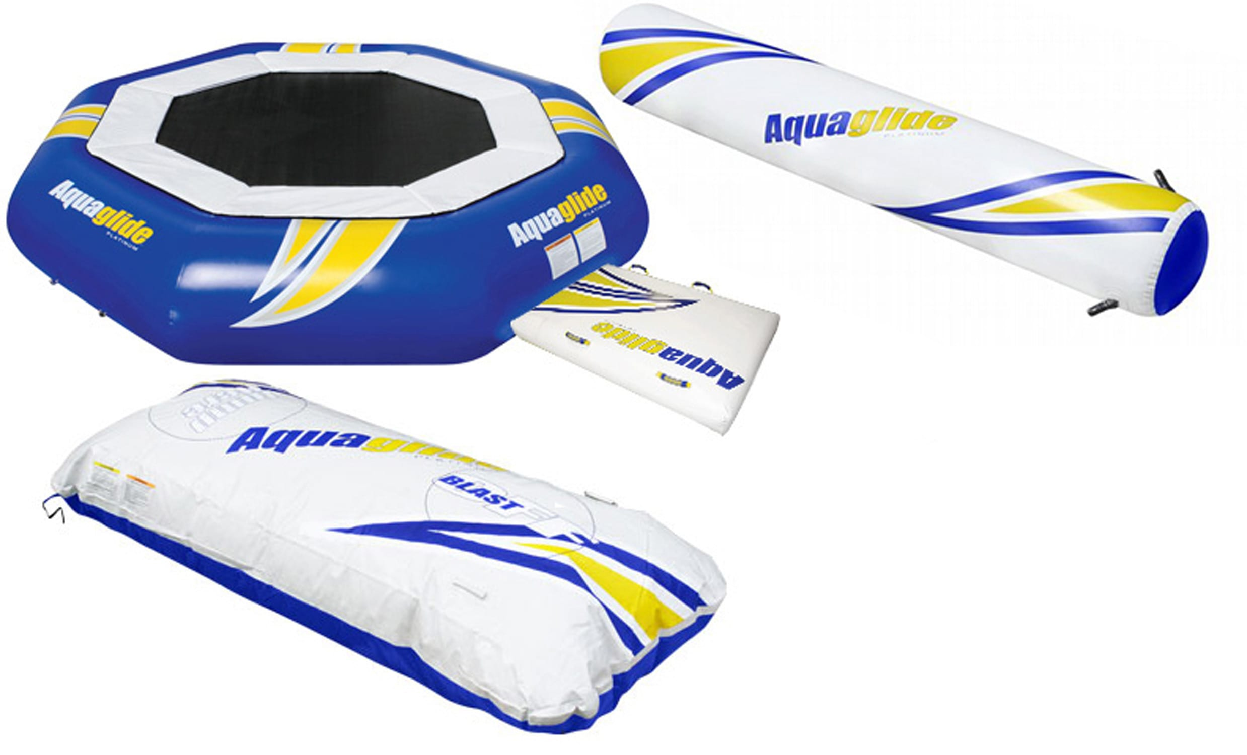 Click here for Aquaglide Supertramp Aquapark Bouncer 14' w/... prices