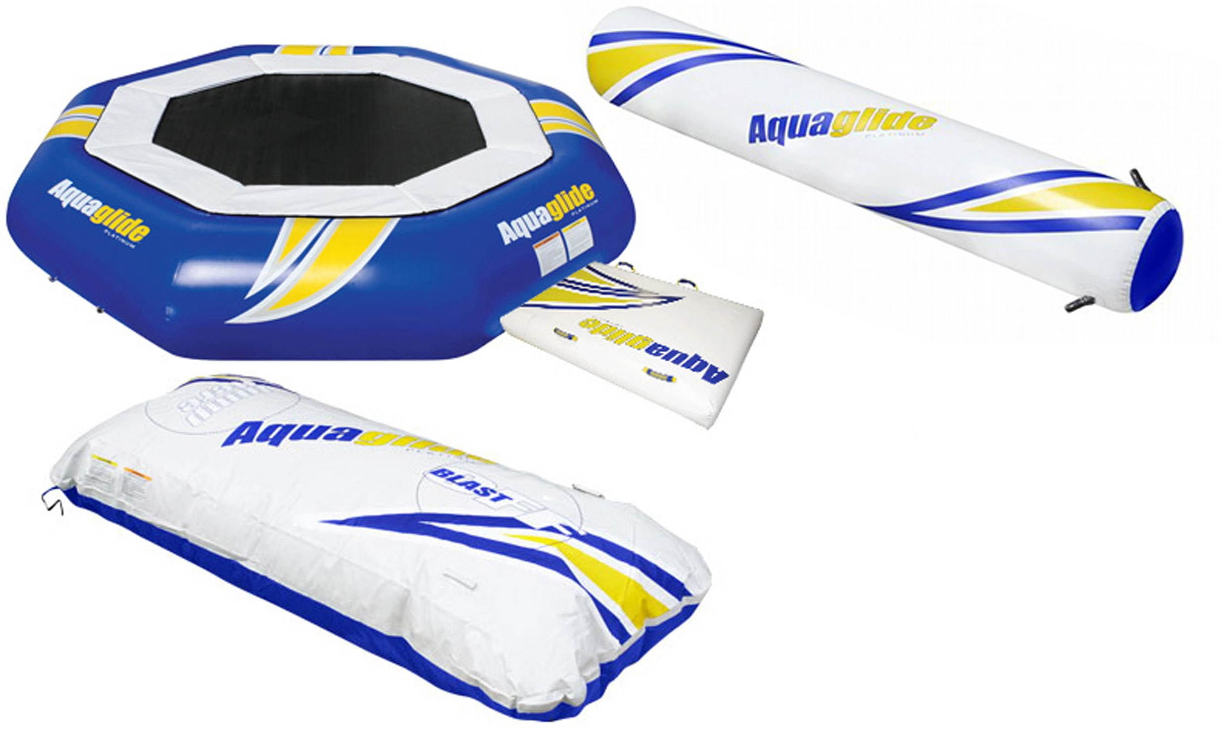 Click here for Aquaglide Supertramp Aquapark Bouncer 17' w/... prices