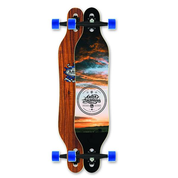 Arbor Axis Longboard Complete
