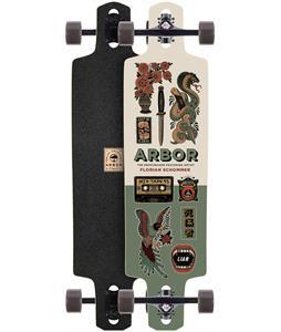 Arbor Dropcruiser Artist Longboard Complete