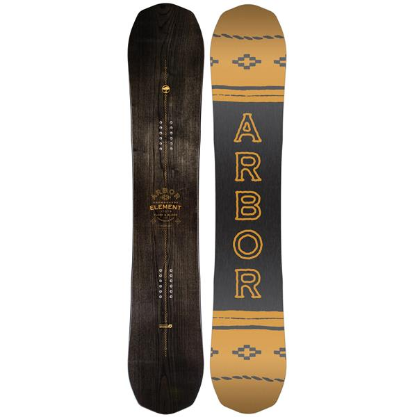 Arbor Element Black Midwide Snowboard