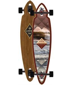 Arbor Mindstate Walnut Longboard Complete 37.5 x 8.75in