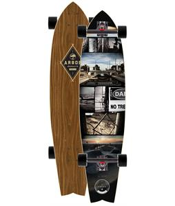 Arbor Mission Walnut Longboard Complete 37 x 8.875in