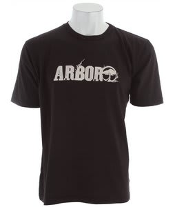 Arbor Rooted T-Shirt Black