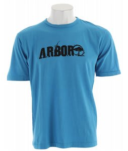 Arbor Rooted T-Shirt Blue