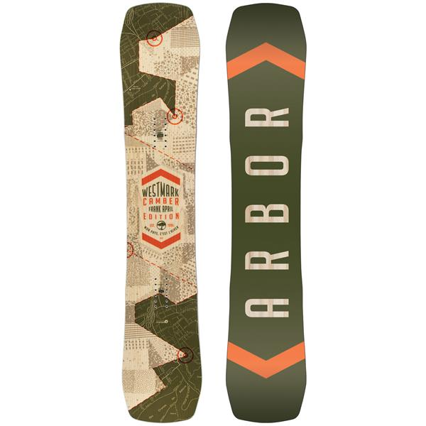 Arbor Westmark Camber: Frank April Edt. Snowboard