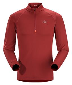 Arc'teryx Thetis Zip Neck Fleece Oxblood