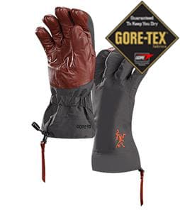 Arc'teryx Beta AR Gore-Tex Gloves Crimson Night