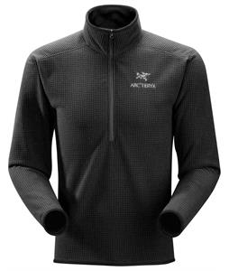 Arc'teryx Delta AR Zip Neck Fleece Black