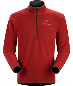 Arc'teryx Delta AR Zip Neck Fleece Oxblood