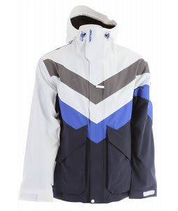Armada Bomb Pop Ski Jacket White