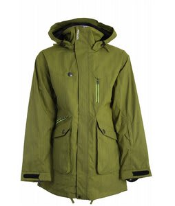 Armada Range Ski Jacket Lime