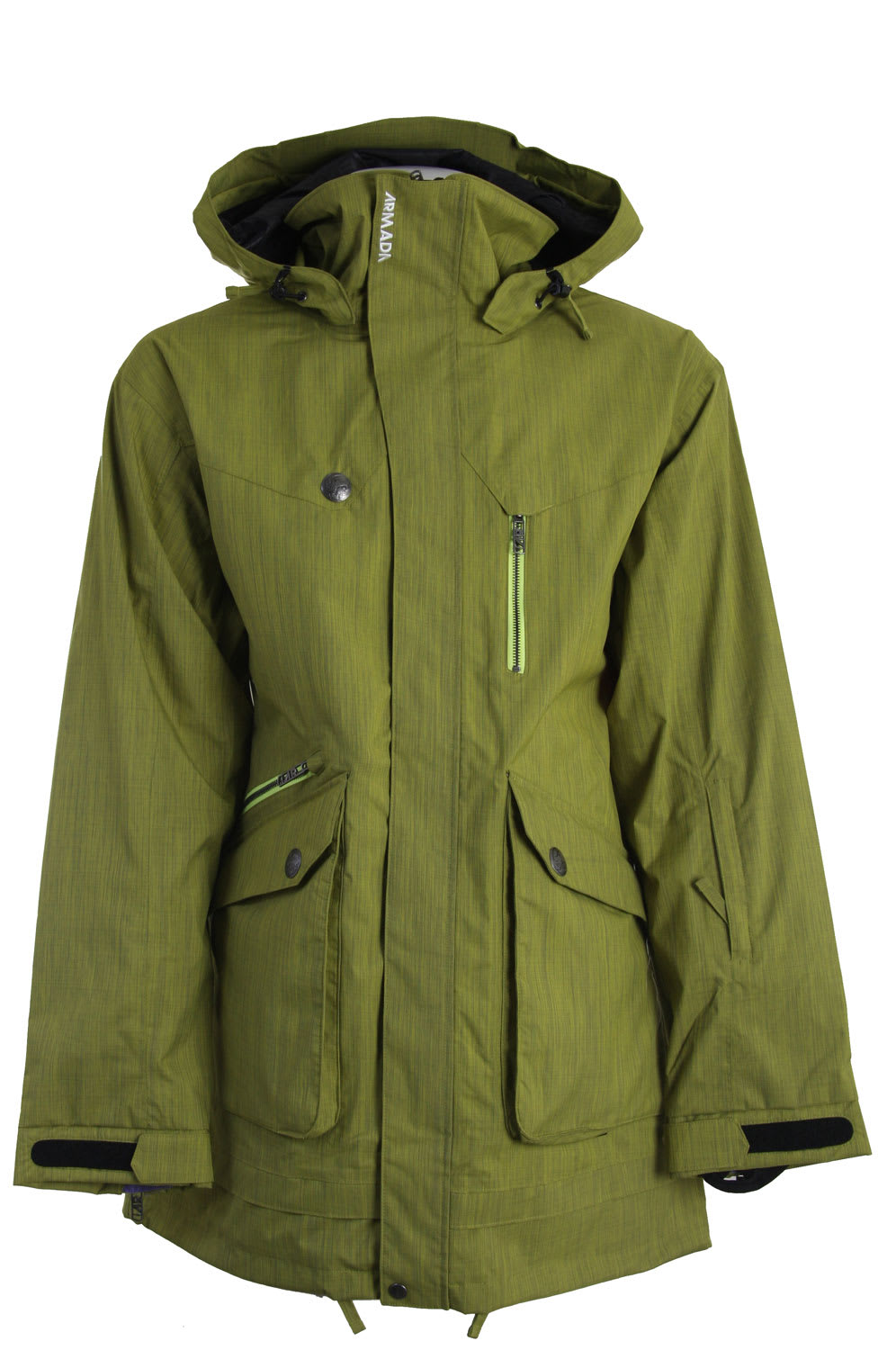 Shop for Armada Range Ski Jacket Lime - Men's