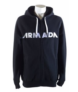 Armada Represent Fleece Hoodie Black