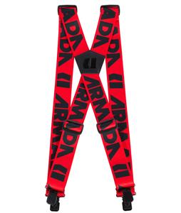 Armada Stage Suspenders Red