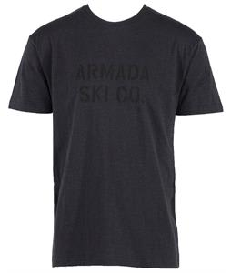 Armada Standard Issue T-Shirt Heather Charcoal