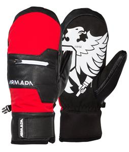 Armada Tremor Mittens Red