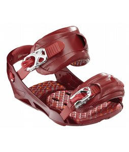 Artec Gus Snowboard Bindings Red
