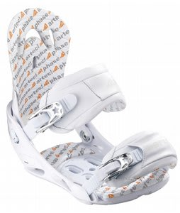 Artec Phase Snowboard Bindings White