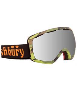 Ashbury Bullet Goggles Camo/Silver Mirror Lens
