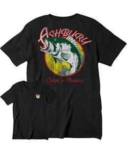 Ashbury Catch N Release T-Shirt Black