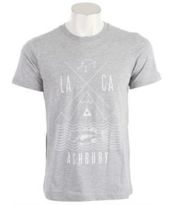 Ashbury Fishing T-Shirt Heather Grey