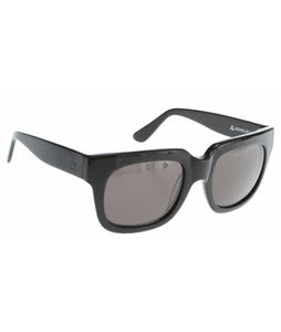 Ashbury Harlem Sunglasses Black Lens
