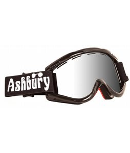 Ashbury Kaleidoscope Goggles Black/Silver Mirror Lens