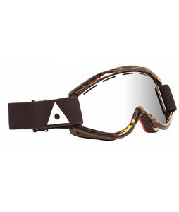 Ashbury Kaleidoscope Goggles Brown Tortoise/Silver Mirror Lens