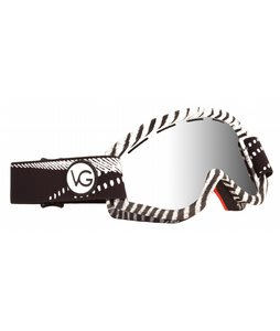 Ashbury Kaleidoscope Goggles Jake Oe/Videograss/Silver Mirror Lens
