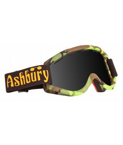 Ashbury Kaleidoscope Goggles Louif Paradis/Dark Smoke Lens